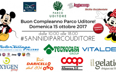 Buon Compleanno Parco Uditore! #5annidiparcouditore