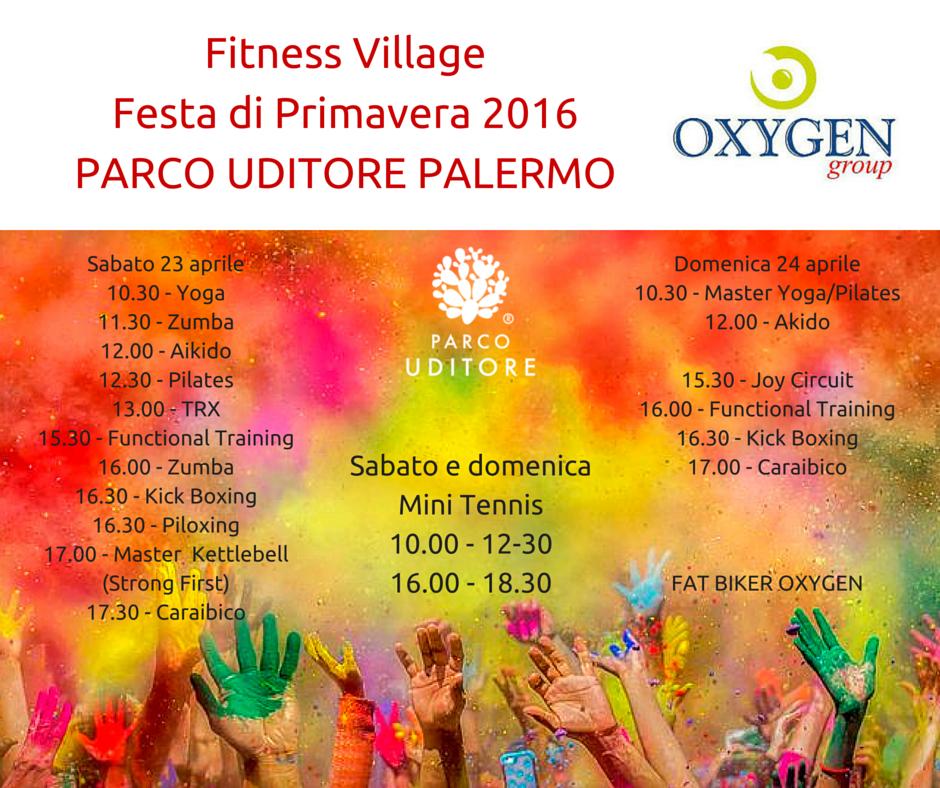 Fitness VillageFesta di Primavera 2016PARCO UDITORE PALERMO(2)