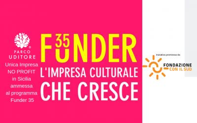 Unica realtà No Profit in Sicilia ammessa a Funder 35